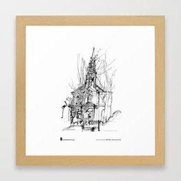 "Veronica Lawlor, ""St. Paul's Chapel"" Framed Art Print"