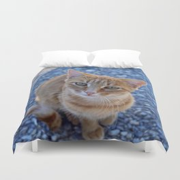give me a little love Duvet Cover