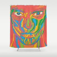 the xx Shower Curtains featuring XX by yhello designer