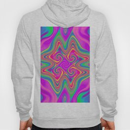 Flames in multi color 05 Hoody