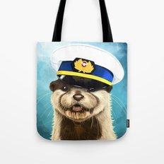 Captain Otter Tote Bag