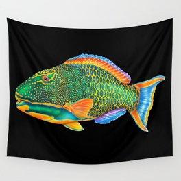 Parrotfish Wall Tapestry