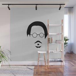 Johnny Depp minimal design Wall Mural