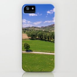 Green Fields of Abruzzo iPhone Case