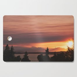 Smoky Sunset Cutting Board