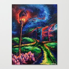 """The Crossroad"" Painting Canvas Print"