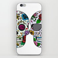 sugar skulls iPhone & iPod Skins featuring Sugar skulls by very giorgious