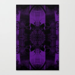 Transmitting Craniums [Purple] Canvas Print