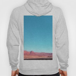 bridge over the river in the desert with blue sky in USA Hoody