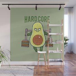Hardcore Avocado Wall Mural