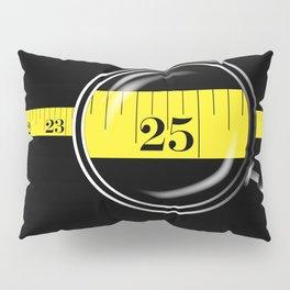 Tape Measure Border Pillow Sham