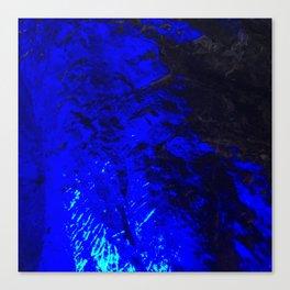 Blue Moon. Fashion Textures Canvas Print