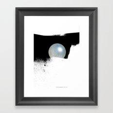 letterglobe... Framed Art Print
