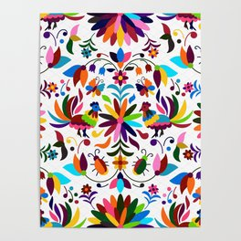 Mexico pattern Poster