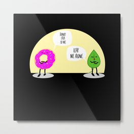 Donuts Lovers Metal Print