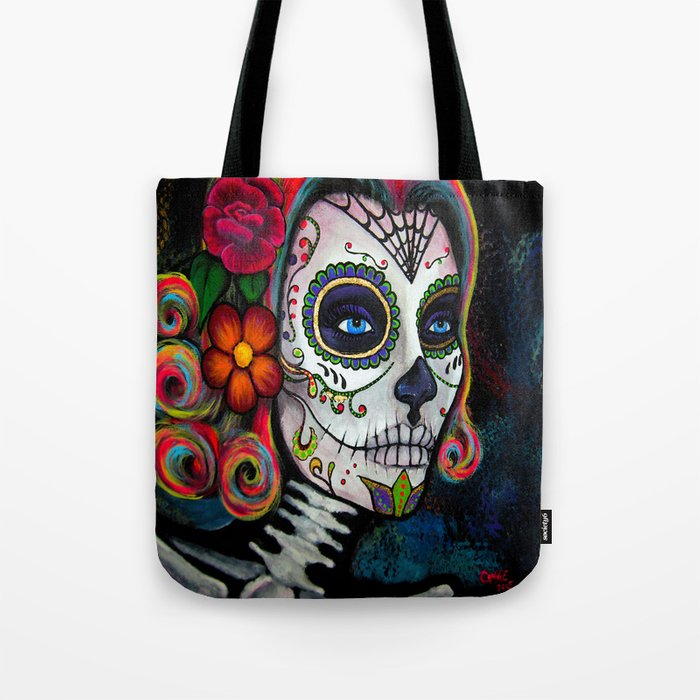 Sugar Skull Candy Tote Bag