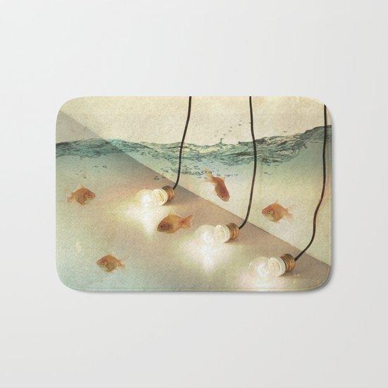 ideas and goldfish Bath Mat