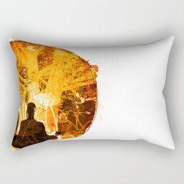 अहं ब्रह्म अस्मिति /Aham Bramhāsmiti Rectangular Pillow