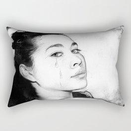 Farewell to Color Rectangular Pillow