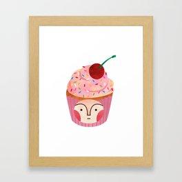 cupcake kid Framed Art Print