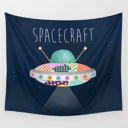 Spacecraft Wall Tapestry
