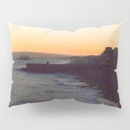 Seafront sunset Pillow Sham