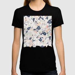 Terrazzo Soothing Earth Tones T-shirt