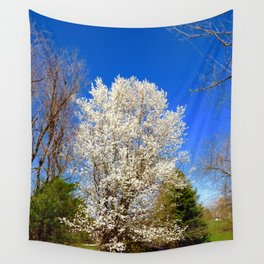 Beauty Against The Sky Wall Tapestry