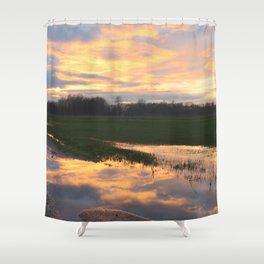 Mirror Shower Curtain