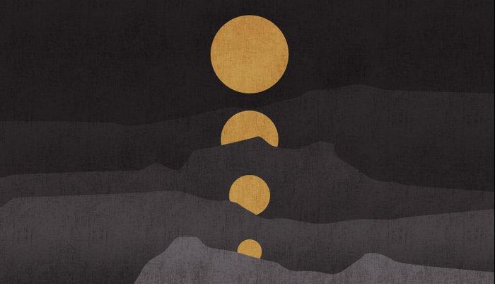 Rise of the golden moon Pillow Sham