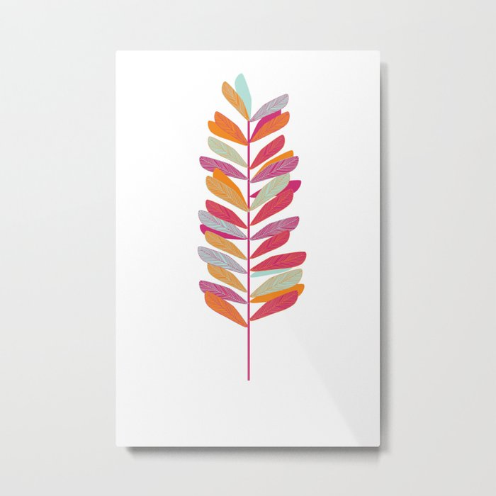 Branch 1 Metal Print