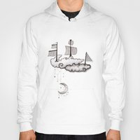 ship Hoodies featuring SHIP by Jumanaah Hiasat