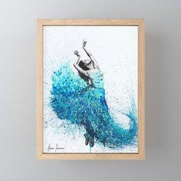 Tropical Reef Dance Framed Mini Art Print