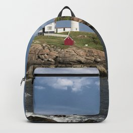 Nubble Lighthouse in Summer Backpack