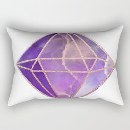 ultra violet in the rough Rectangular Pillow