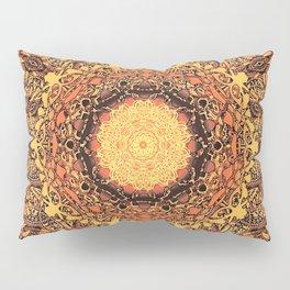 Marigold Mandala Pillow Sham
