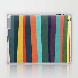 Mid-century zebra Laptop & iPad Skin