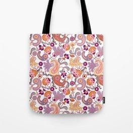 Pastel Paisleys Tote Bag