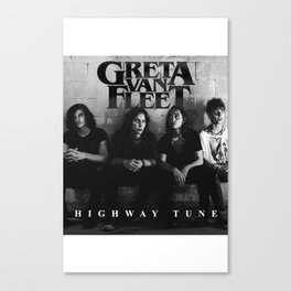 GRETA VAN FLEET TOUR WORLD 2018 {2} Canvas Print