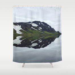 Icelandic Morning Shower Curtain