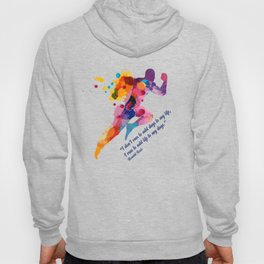 A runners and winners short life quote Hoody