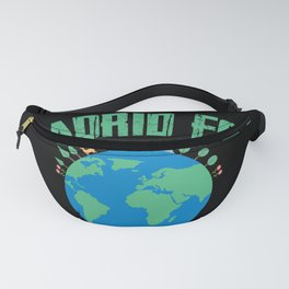 Madrid for A clean Earth Happy Earth Day Gift Fanny Pack