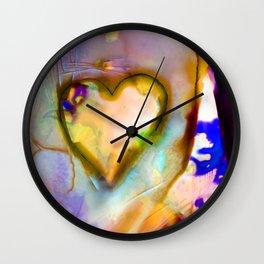 Heart Dreams 4J by Kathy Morton Stanion Wall Clock