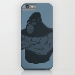 Grrr-illa iPhone Case