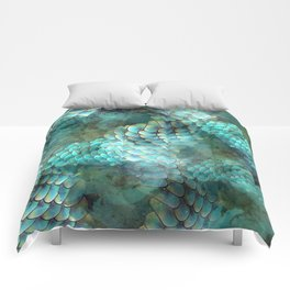 Mermaid Scales Comforters