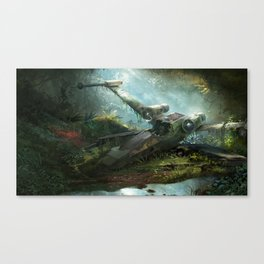 Abandoned X-Wing Canvas Print