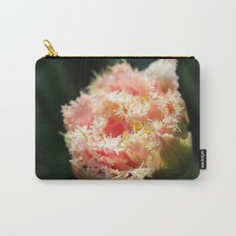 Pink Parrot Tulip Carry-All Pouch