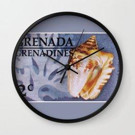 Hawk-wing Conch Wall Clock