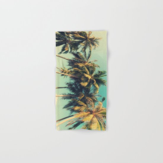 tropical trees in florida Hand & Bath Towel