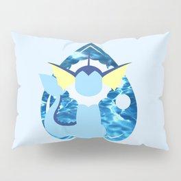 Minimal Vaporeon Pillow Sham